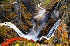 Voringsfossen Waterfall, Norway