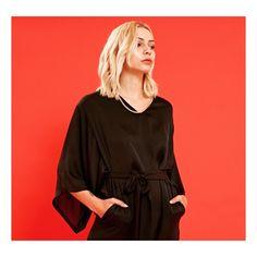 Our SASSY BEHAVIOUR jumpsuit up close. Shop online now