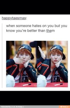When you r freaking Min Yoongi you don't have to care.
