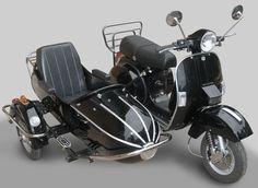 Sidecar for Vespa, vroom vroom