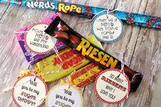 Fun DIY Valentine candy labels from @Kristyn Merkley! #printable #valentines