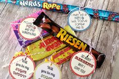 DIY Candy Labels