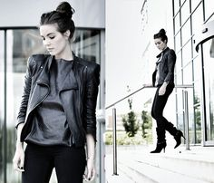 LEATHER PARTY (by Cindy Van der Heyden) http://lookbook.nu/look/3668453-LEATHER-PARTY