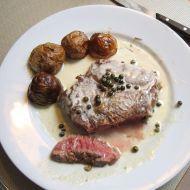 Fotografie receptu: Pepřová omáčka na steaky