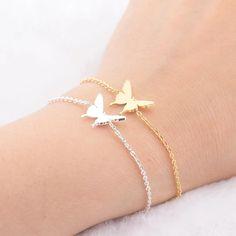 Butterfly Best Friend Bracelet for Friendship Gift – Online Best Deals Bracelets Bff, Best Friend Charm Bracelets, Sister Bracelet, Best Friend Jewelry, Ankle Bracelets, Trendy Bracelets, Charms For Bracelets, Simple Bracelets, Necklaces