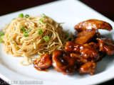 Recipe Teriyaki Chicken & Garlic Noodles by Meg Kat