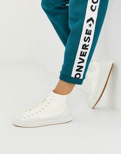 432928048ee Converse Chuck Taylor Sasha Vintage white sneakers | ASOS