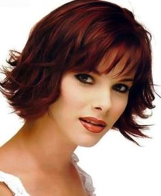 Medium hairstyles with bangs pic 28 from the third section.