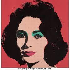 Liz, 1965 Andy Warhol Andy Warhol Marilyn, Art Andy Warhol, Andy Warhol Museum, Art Pop, Portraits Pop Art, James Rosenquist, Tinta Spray, Robert Rauschenberg, Art Institute Of Chicago