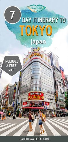 Tokyo is one of the biggest metropolis in the world. While 7 days isn't enough to see it all, it is enough to get a taste! Tokyo Japan Travel, Japan Travel Guide, Asia Travel, Japan Trip, Tokyo Trip, Tokyo 2020, Overseas Travel, Kamakura, Hiroshima