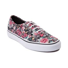 Shop for Vans Authentic Floral Skate Shoe in Multi at Journeys Shoes. Shop today for the hottest brands in mens shoes and womens shoes at Journeys.com.The Authentic from Vans is always in style. Comin to you featuring a vintage-style floral print canvas upper, lace closure with metal eyelets, and vulcanized rubber sole with waffle tread. Available for shipment in July; pre-order yours today!