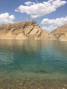 I went to escape the heat today - Lake Dukan Iraqi Kurdistan [OC] [3024 x 4032]