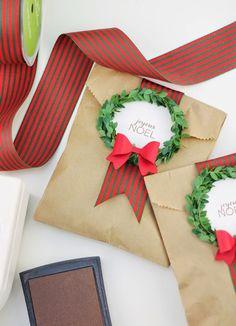Encontrando Ideias: Tutorial de Natal!!
