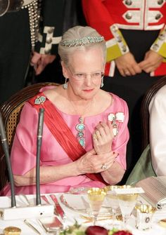 State Visit from South Korea - State Banquet: HM The Queen of Denmark (11 May 2011) [PHOTO CREDITS: msn.dk]