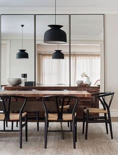 Love these style chairs for the dinning room