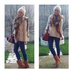 De verdad da gusto con todos vuestros comentarios y me gustas...gracias!!!! ▶jersey,jeans y bufanda #zara #new ▶ gorro #suiteblanco #old ▶ bolso #stradivarius #old (aunque sigue estando) ▶ botas #ugg #replica #nenaponteguapa ❄❄❄ #wearing #ootd #outfit #outfitoftheday #look #lookbook #style #iger #instagramers #instablog #instablogger #fashionista #mylook#fashion #clothing #moda #fashiondaily #trend #trendy  #instamood #instafashion #instastyle