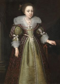 Geldorp, George - PORTRAIT OF ELIZABETH BASSETT (1617-1643), LATER DUCHESS OF NEWCASTLE | 1595-1665