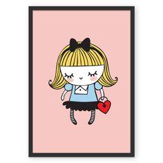 Poster Alice de @adonadabolsinha | Colab55