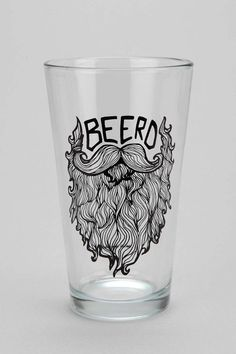 Beerd Pint Glass from UO for Bobby lol