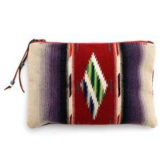 Totem Salvaged Vintage Serape Clutch at Maverick Western Wear