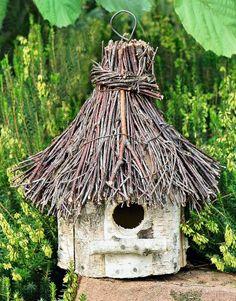 Vtáčia búdka, drevená