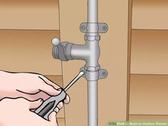 Image titled Build an Outdoor Shower Step 7
