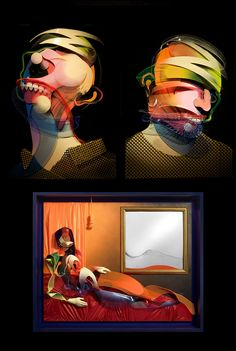 Adam Neate ~ Look In Art