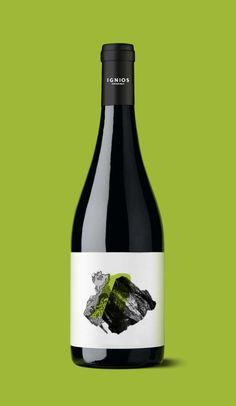 Ignios Orígenes_Marmajuelo // identity & packaging // www.dailosperez.com #taninotanino #vinosmaximum