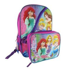 9a8e6e08082 Disney Princess Backpack   Lunch Bag Set - Kids