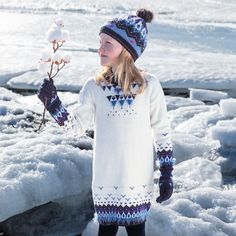 Ice Land, Winter Hats, Cover Up, Motifs, Boys, Collection, Dresses, Fashion, Jacquard Dress