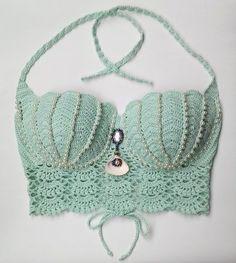 Knitted Bikini Making
