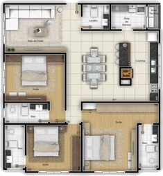 Top 40 Floor Plan Ideas Image Size: 736 x 795 Source Sims House Plans, House Layout Plans, Dream House Plans, Small House Plans, House Floor Plans, Home Design Floor Plans, Home Building Design, Building A House, Layouts Casa