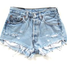 Size 30 high waisted shorts light denim - Woman Under Wear Vintage Shorts, Vintage High Waisted Shorts, Vintage Denim, Light Denim, Ripped Shorts, Denim Shorts, Waisted Denim, Short Shorts, Short Jeans