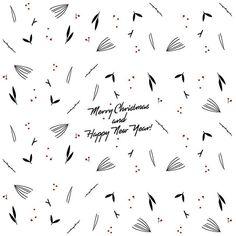 ❤️🌲 #merrychristmas #happynewyear #lettering #pattern #design #happy #handdrawn #minimal #floraldesign