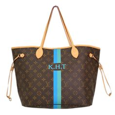 Have never seen the Aqua color as an option - LOVE! Louis Vuitton Blue Mon 6089d283e62c9