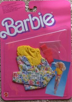 1987 Barbie - (Twice As Nice Fashions) #