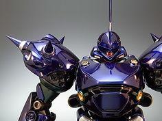 Painted Build: MG Kampfer Chrome Gunpla Custom, Custom Gundam, Gundam Flauros, Big Robots, Mecha Suit, Gundam Astray, Old Anime, Robot Design, Futuristic Design