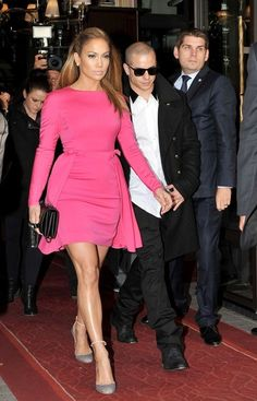 Valentino's Hot Pink Bowed Mini - Jennifer Lopez's Most Magnificent Fashion Moments - Photos