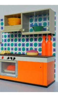 Vintage toy kitchen...