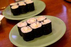 Kani tamago maki, sushi tei