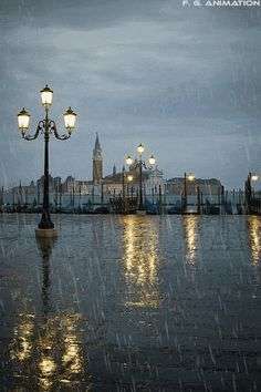Venise ça mouille…