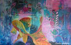 intuitief schilderen, bloom true