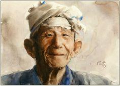 Artimañas: Guan Weixing - Watercolors