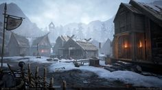 This is a project that is part of my Thesis, it is a Viking village and dining hall. I created all aspects seen, worked from concepts that I came up with. Created in UE4, modeled in Maya as well as Zbrush, and used Substance Designer to create some of the materials, used World Machine for the vista mountains, and Substance painter for a few assets (mostly used for getting edge wear masks).  All work seen is my own, and is created in Unreal Engine 4.