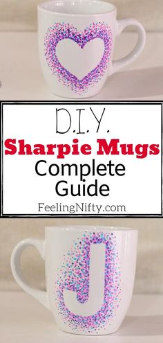 Find out how to make Sharpie mugs that won't wash away! Also, get some fun design ideas that are so simple a kid can do it. Includes baking temperature,