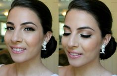 ▶ My desired Engagement makeup look (If I were to be engaged one day, that is) ; Simple Wedding Makeup, Wedding Makeup Tutorial, Wedding Makeup Tips, Bridal Hair And Makeup, Wedding Hair And Makeup, Bridal Beauty, Wedding Beauty, Wedding Make Up, Hair Makeup