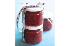 Festive rhubarb and red pepper relish recipe, NZ Womans Weekly – Rhubarb onions red peppers and cranberries combine beautifully in this festive relish - Eat Well (formerly Bite) Pepper Relish, Red Pepper Sauce, Food Hub, Relish Recipes, Dried Cranberries, Red Peppers, Recipe Using, Stuffed Peppers