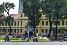 Sending Postcard in Saigon Central Post Office I used to send postcards and holiday cards to friends and relatives. Since Saig. Christmas Light Show, Sending Postcards, Batangas, Holy Week, St Francis, Palawan, Night City, Ho Chi Minh City