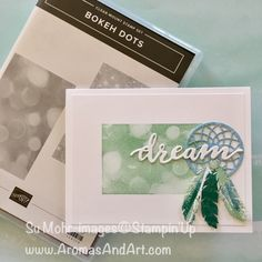 Chase Your Dreams with Feathers and Bokeh Dots - Aromas and Art