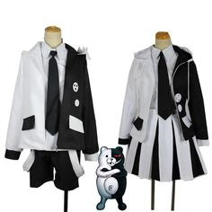 : The End Of Hope College Uniform Suit Cosplay Costumes Halloween , Cute Cosplay, Cosplay Dress, Cosplay Outfits, Anime Outfits, Girl Outfits, Fashion Outfits, Kawaii Fashion, Lolita Fashion, Mode Emo